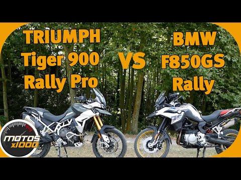 Comparativa Triumph Tiger 900 Rally Pro Vs. BMW F850 GS Rally