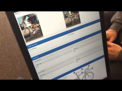 BikeFit iPad App Features   The Post Fit Report