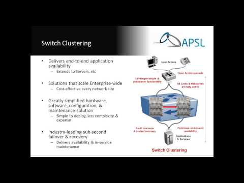 APSL Webinar - Premier Networking with Avaya