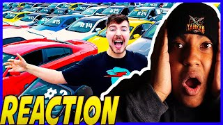 [Mr Beast]I Gave My 40,000,000th Subscriber 40 Cars|MrBeast Reaction|