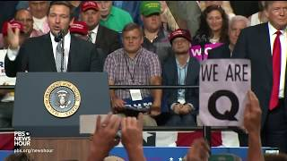 How the false, fringe 'QAnon' conspiracy theory aims to protect Trump