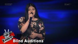 Θένια Κεβεζιτίδου - Can't Help Falling In Love | 8o Blind Audition | The Voice of Greece