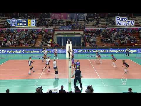 #CLVolleyW - Igor Gorgonzola NOVARA keep the ball alive