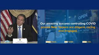 Governor Cuomo Announces Indoor Dining in NYC to Resume Beginning Sept 30 with 25 Percent Occupancy