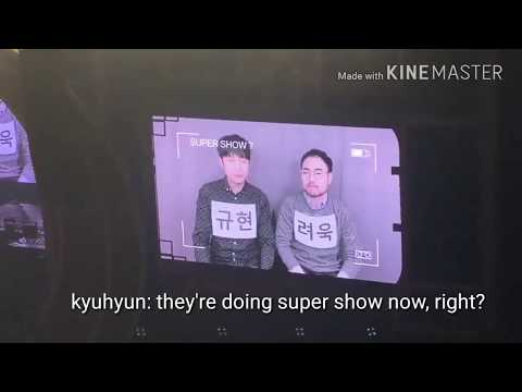 [ENGSUB]  Kyuhyun Ryeowook - Super Show 7 (SS7)