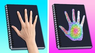 32 COLORFUL DIY BACK TO SCHOOL CRAFTS AND LIFE HACKS || DIY STATIONERY IDEAS