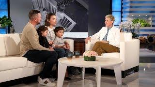 Ellen Meets Viral Toddler Siblings