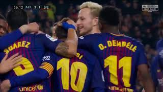 FC Barcelona vs Girona 6-1 All Goals & Highlights 24-02-2018 La Liga