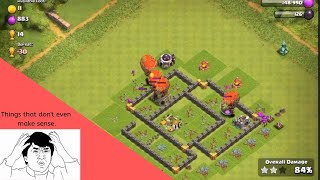 2 minutes and 18 seconds about illogical parts about Clash of Clans.