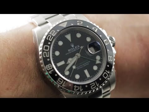 video Rolex GMT-Master II – 116710LN (Stainless Steel – Black)