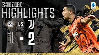 Udinese 1-2 Juventus | La doppietta di Ronaldo per una vittoria in trasferta! | EXTENDED Highlights