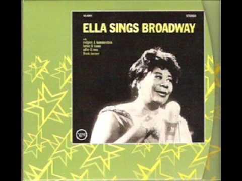 Ella Fitzgerald - I Could Write a Book Lyrics