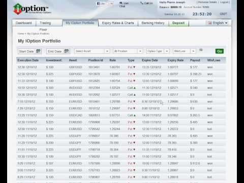 Where are options contracts traded