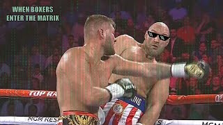 When Boxers Enter The Matrix
