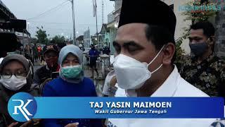 Gus Yasin Tinjau Banjir Kudus, Ditagih Normalisasi Sungai oleh Warga