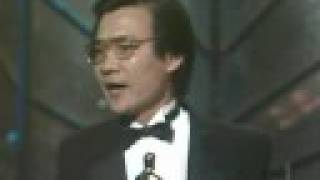 Haing S. Ngor winning Best Supporting Actor