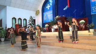 Chúa Giáng Sinh - Múa [[ Ấu nhi Chi hội Tin lành Bu Đắk ]]
