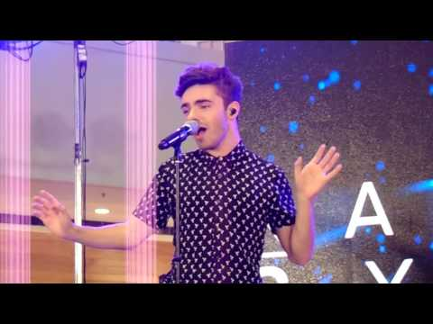 Nathan Sykes - Kiss Me Quick Live in Manila 2016 (SM Megamall)