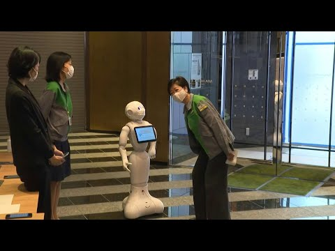 Robot welcome at Tokyo quarantine hotel | AFP photo