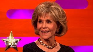Jane Fonda Started & Ended Her Career Sleeping With Robert Redford | The Graham Norton Show