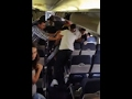 Violent fistfight aboard Southwest flight in US; One held