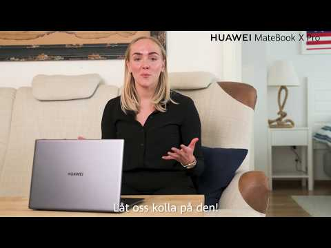 HUAWEI Matebook X Pro (2020) - Borderless Experience