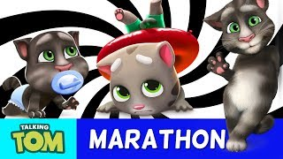 Talking Tom and Friends - ALL Game Trailers (2013 to 2018 Evolution)