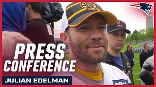 "Julian Edelman on playing in New England: ""I love being here"""
