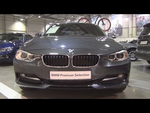 BMW 320d xDrive (2015) Exterior and Interior in 3D