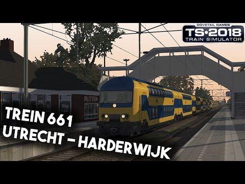 Train Simulator 2018 Utrecht Centraal  Amersfoort  Harderwijk