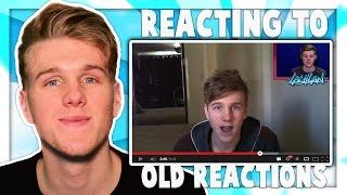 REACTING TO MY VIDEO OF ME REACTING TO MY OLD VIDEOS!