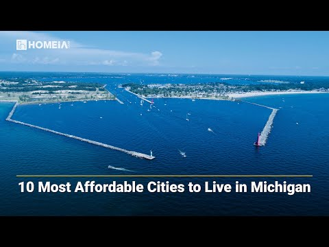 Most affordable places to live in Michigan