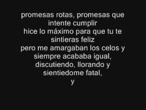 Porta - Son Recuerdos y Promesas Rotas (con letra)