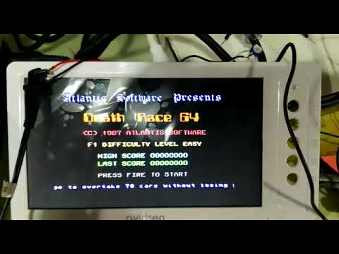 El Commodore en un Microhondas // C64 in a microwave door