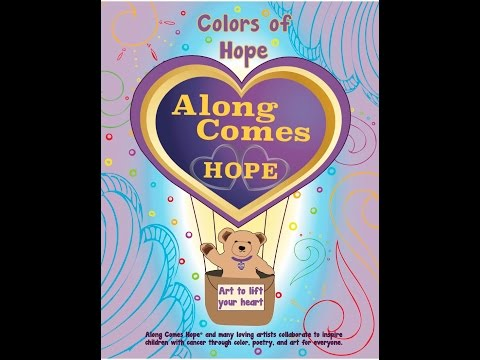 Colors of Hope   coloring book journal