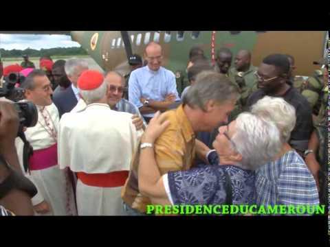 LIBERATION DES TROIS RELIGIEUX ENLEVES A TCHERE REGION DE  L'EXTREME NORD CAMEROUN