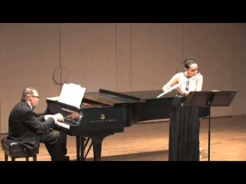Prokofiev Flute Sonata in D. California State University, Northridge. April 6th, 2013.