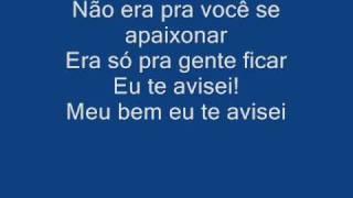 Joao Bosto e Vinicius   Chora Me liga Com letra