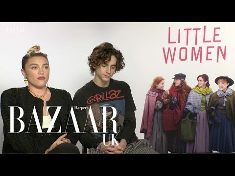 Timothée Chalamet and Florence Pugh on heartbreak and true love
