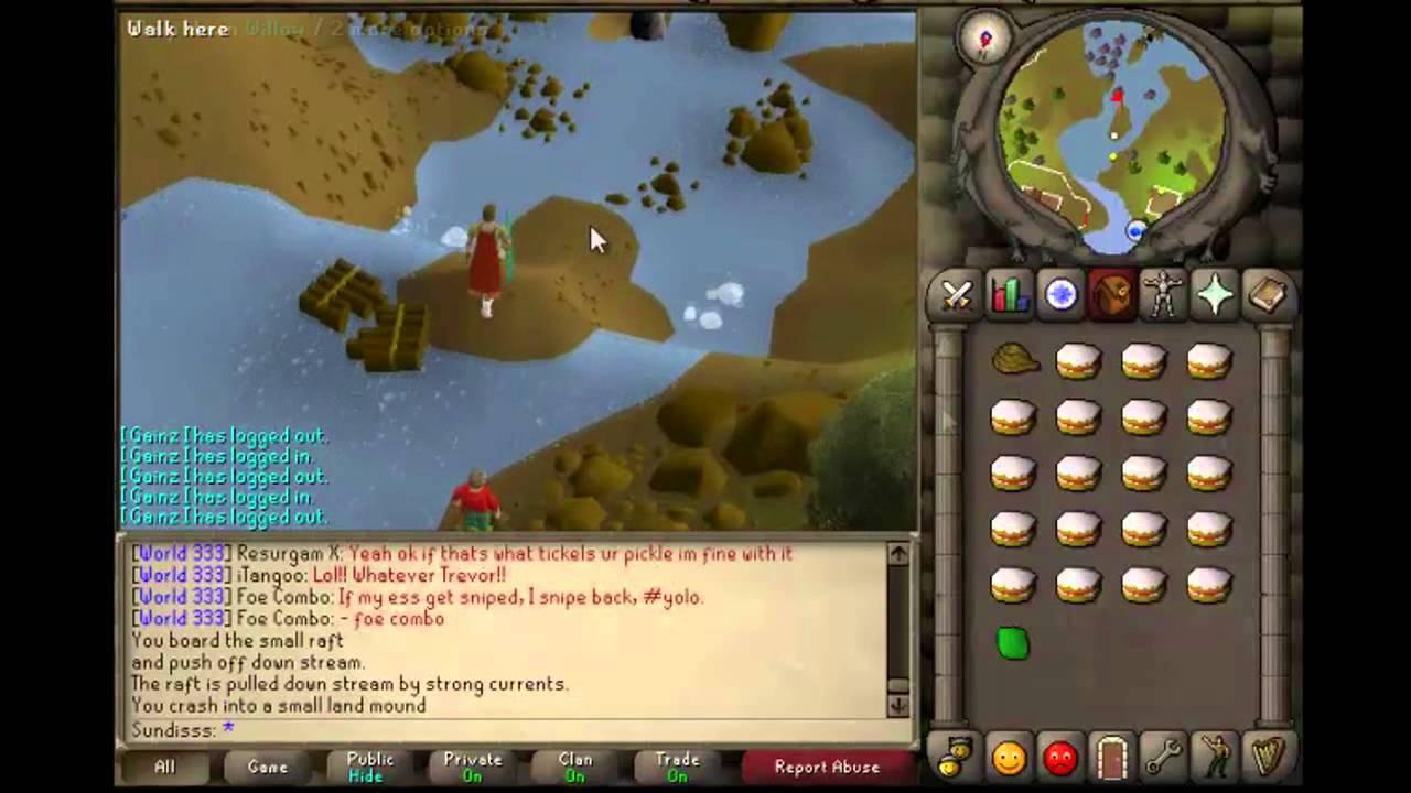 Runescape 2007 Fire Giants Guide! - YouTube