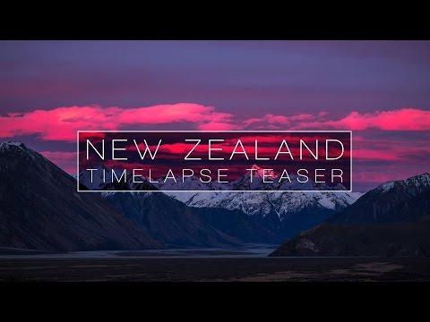 NEW ZEALAND – TIMELAPSE TEASER