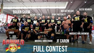 Most Stacked Pro Show  Line Up Since World's Strongest Man: Arnolds Classic Barcelona 2019