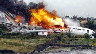 Miracle Escape   Airbus A340 Crash in Toronto   Air France Flight 358