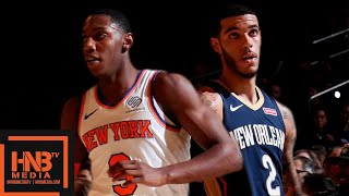 New Orleans Pelicans vs New York Knicks - Full Game Highlights | October 18, 2019 NBA Preseason