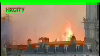 Live: Pictures of Paris's iconic Notre,Dame Cathedral on fire |RE: HKcitythat it appears the fire wa