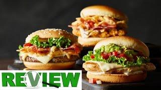 Three New Mcdonald's Signature Burgers Review.