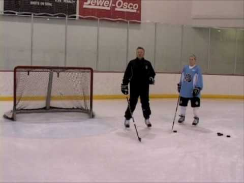 Youth Hockey Tips with mccudden - Backdoor Receiving Pass
