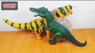 Khủng long gai chiến đấu khủng long bạo chúa biết đi đồ chơi trẻ em dinosaur toy for kids