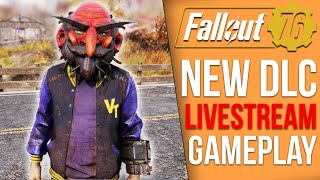 NEW Fallout 76 DLC - The Fasnacht Parade (Gameplay Livestream)