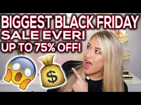 The BIGGEST Black Friday & Cyber Monday deals EVER! Sephora, Ulta & more!